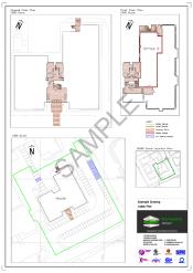 Land Registry compliant lease plan from Technics