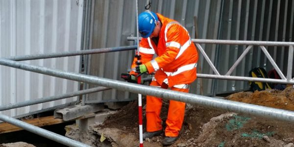 Underground utility survey