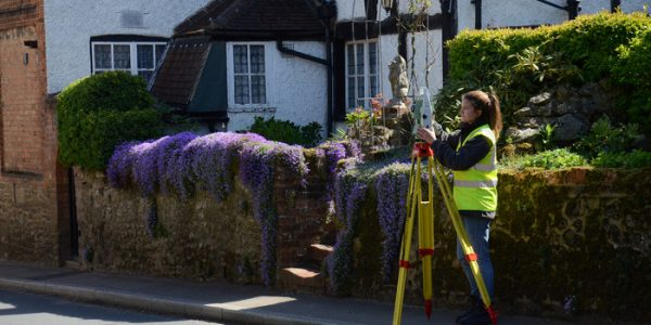 Training to become a surveyor with Technics