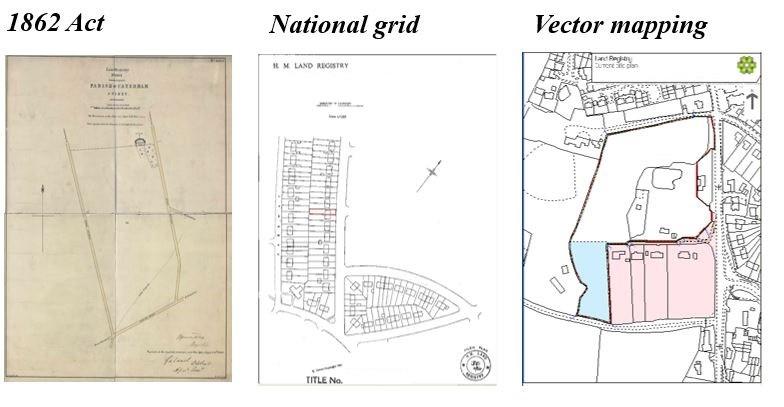 Evolution of the Land Registry Title Plan